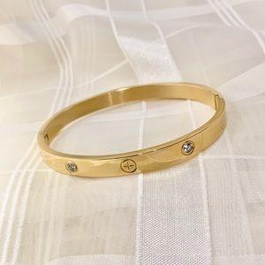 Bangle Bracelet gold fashion trendy